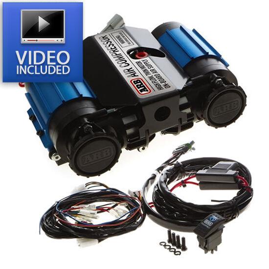 ARB CKMTA12 On-Board High Performance 12 Volt Twin Air Compressor