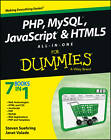 PHP, MySQL, JavaScript & HTML5 All-in-one For Dummies by Steve Suehring, Janet Valade (Paperback, 2013)