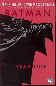 BATMAN YEAR ONE DC COMICS FRANK MILLER