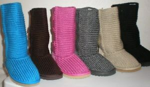 New-Girls-Slouchy-Knit-Sweater-Boots-Children-Place-Buttons-Size11-12-13-1-2-3-4