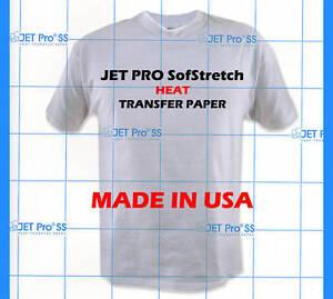 Inkjet-Jet-Pro-SS-Soft-Stretch-Transfer-Paper-Sheets-Heat-Transfer-Paper-9811P0