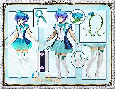 Japan Anime Vocaloid 3 Aoki Rapis Cosplay Costume