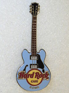 rome hard rock cafe pin core guitar 2 strings ebay. Black Bedroom Furniture Sets. Home Design Ideas