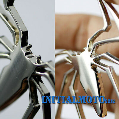 3D SUV Truck Spider Chrome Silver Badge Sticker Logo Emblem Marker Decal Trim