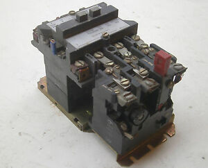 Westinghouse Motor Starter Control A200mocac 18a Amp Used