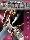 Guitar Play-Along: Heavy Metal: Volume 54 by Hal Leonard Corporation (Mixed media product, 2008)