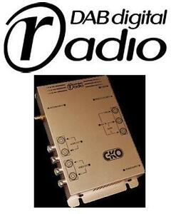 CKO-Add-On-Extra-Car-DAB-DAB-Digital-Radio-Tuner-12v-with-AV-input