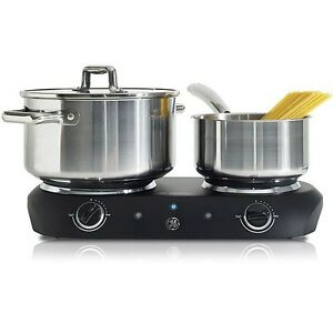 GE-Double-Dual-Electric-Range-Hot-Plate