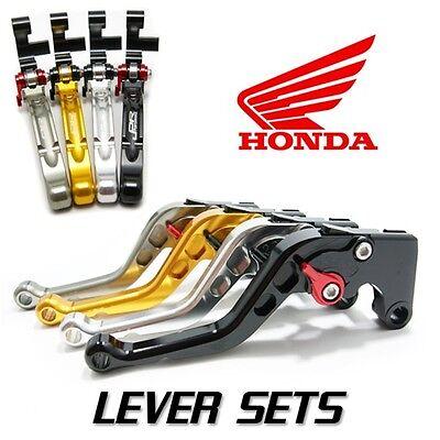 JPR Roll n Click Shorty Brake and  Clutch Levers Honda CBR600RR 2007 - 2016