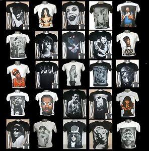 FREE-SHIPPING-Unisex-T-shirt-S-M-L-XL-Rock-Indie-R-amp-B-Rap-Singer-Band