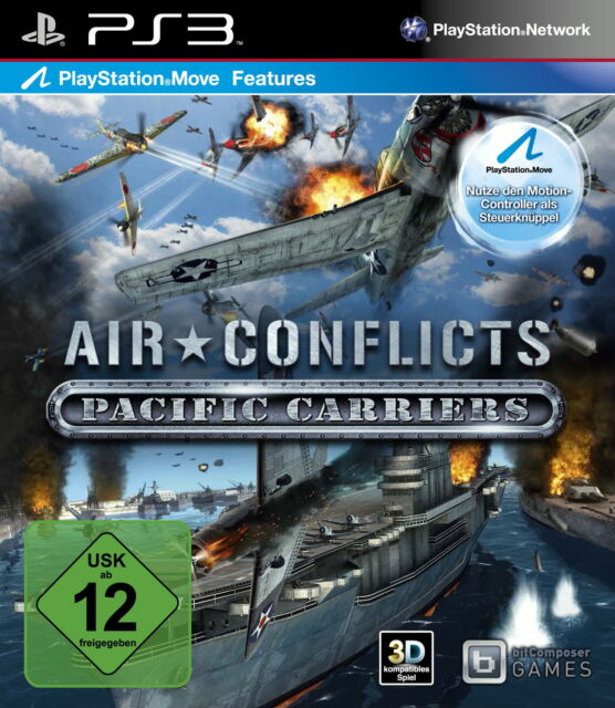 PS3 - Playstation 3 Air Conflicts Pacific Carriers in OVP