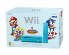 Nintendo Wii Mario & Sonic at the London 2012 Olympic Games Limited Edition Pack 512MB Blue Console