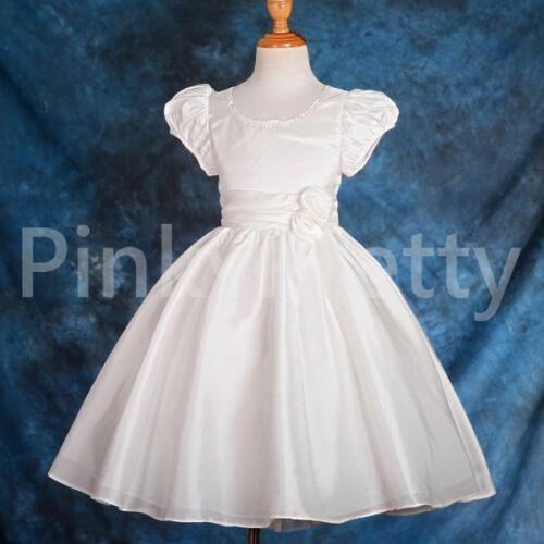 50/% OFF SALE Rhinestone Flower Girl Dress Wedding Bridesmaid Party Sz 18m-7y 165
