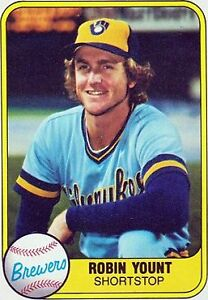 Details About Lot Of 50 1981 Fleer Baseball Robin Yount Card 511