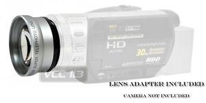 46mm-Telephoto-Lens-Lens-FOR-Panasonic-HDC-HS700-TM700-HDC-TM700-HDC-HS700