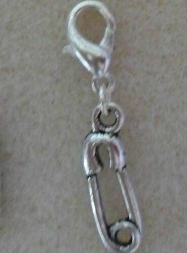 Clip On Charm Baby Themed  Dummy Feet Bracelet