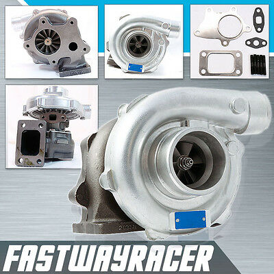 Universal T3/T4 T04E Hybrid Turbo Charger 63 AR Exhaust Trim T3 Flange 2.5'' DP