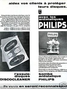 Publicité Philips produits nettoyant pour disques antistatique yhwzkYsE-08132800-951094150