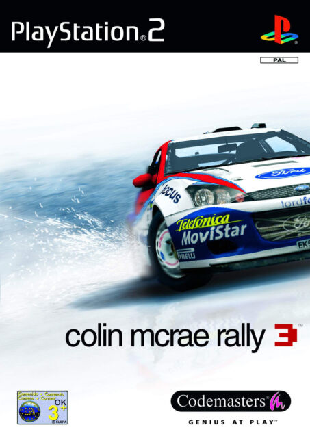 Colin McRae Rally 3 mit Anleitung (PS2) - DVD wie Neu