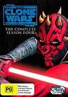 Star Wars - The Clone Wars - Animated Series : Season 4 (Blu-ray, 2012, 3-Disc Set)