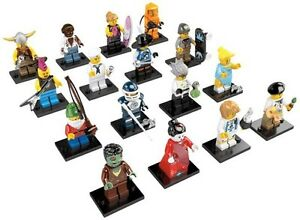 NEW-LEGO-8804-Complete-Set-of-16-MINIFIGURES-SERIES-4