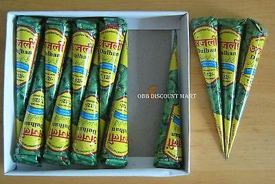 Anjali Henna Heena Freshly Made Cones - Dark Color Guaranteed