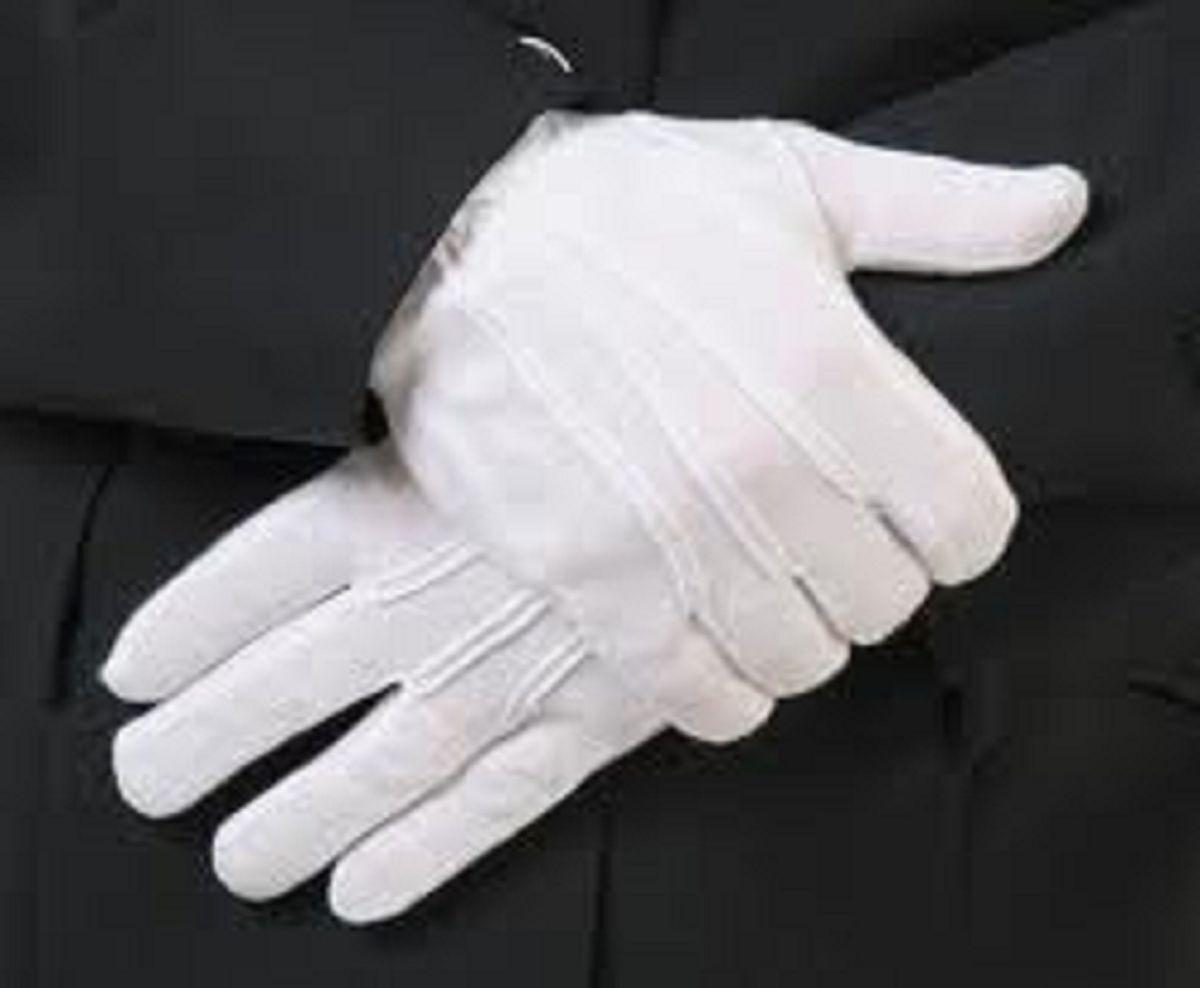 Unisex Pair White Formal Tuxedo Honor Color Guard Parade