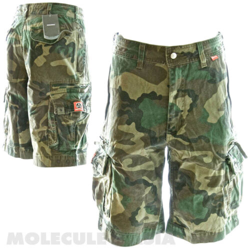 Molecule Beach Bumpers Cotton Cargo Shorts for Men