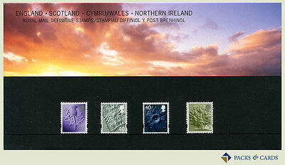 2004 Four Regions Definitive Stamp Presentation Pack PPD93 (printed no.68)