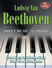 Ludwig Van Beethoven: Sheet Music for Piano: From Easy to Advanced; Over 25 Masterpieces by Flame Tree Publishing (Spiral bound, 2012)
