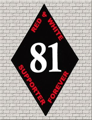 HELLS ANGELS BIG HOUSE CREW 'SUPPORT 81 FOREVER' SUPPORT STICKERS BLACK