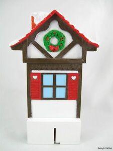 Mr-Christmas-Santa-039-s-Ski-Slope-Upper-Ski-House-Replacement-Piece