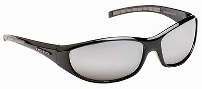 Mens Wrap Around Biker Ski Dark Shades Mirror Sports Sunglasses Black Blue