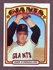 1972 Topps John Cumberland #403 Baseball Card