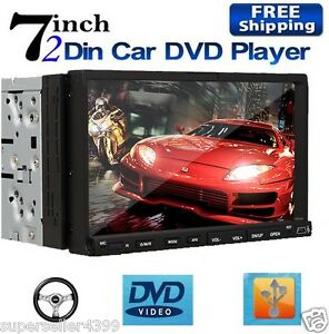 HD-OEM-Double-2-Din-7-Touch-Screen-Car-Stereo-DVD-Player-Radio-Hitachi-CD-Head