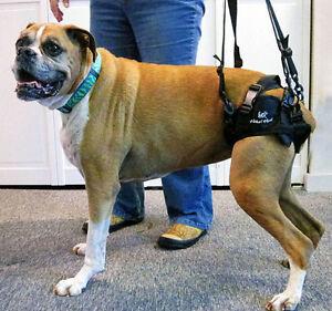 Fabric Walkin Lift Rear Dog Harness Misprinted Logo Ebay