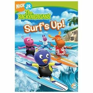 Stock photo; The Backyardigans - Surfs Up (DVD, 2006)