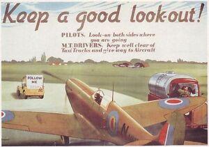 World-War-2-RAF-Health-and-Safety-Spitfire-Hurricane-Poster-A3-Reprint