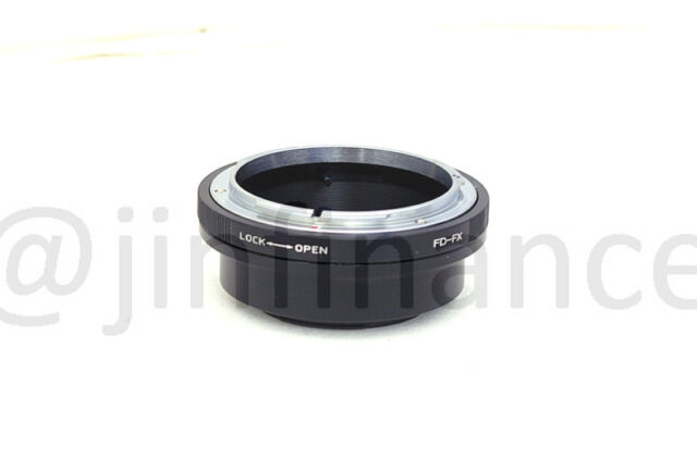 Canon FD FL mount lens to Fujifilm X-Pro1 X1 Pro XPro mount Camera Adapter