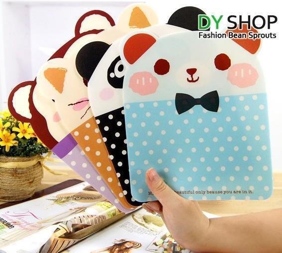 1x Creative Cartoon Panda Bear Animal Shaped Mouse Pad Mat Random