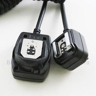 TTL Flash Off Camera Shoe Sync Cord for Canon OC-E3 430EX 580EX II 600EX-RT