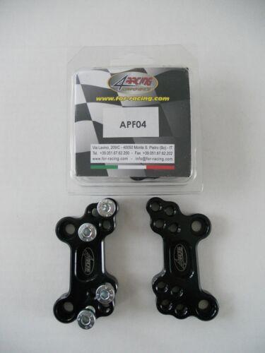 APF04 SOPORTES PARA RETRASAR ESTRIBERAS HONDA CBR 600 RR 2003-2012 4RACING