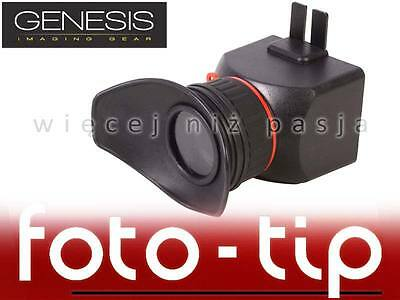 Genesis CineView 4:3 LCD VIEWFINDER PRO with diopter adjustment for Nikon, Canon