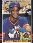 1985 Donruss Darryl Strawberry New York Mets #312 Baseball Card
