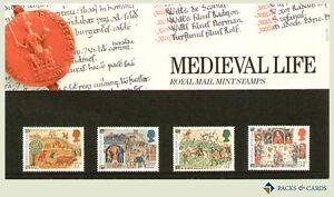 1986-Medieval-Life-Stamp-Presentation-Pack-PP148-printed-no-172-Royal-Mail