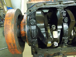 1974-CHEVELLE-sbc-350-4-BOLT-ENGINE-CASTING-3970010-CLEAN-USED-HEADS-2-OIL-PAN
