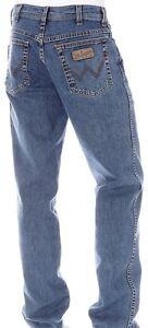 WRANGLER-jeans-ITALIA-mod-Texas-STONEWASH-Stretch-Tg-W31-L34