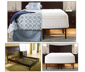 QUEEN METAL PLATFORM BED FRAME (HOLDS UP TO 1200 POUNDS)