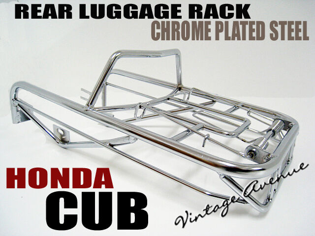 HONDA C100 CA100 C102 CA102 C105 CA105T C65 CM90 CM91 REAR LUGGAGE RACK [P1]