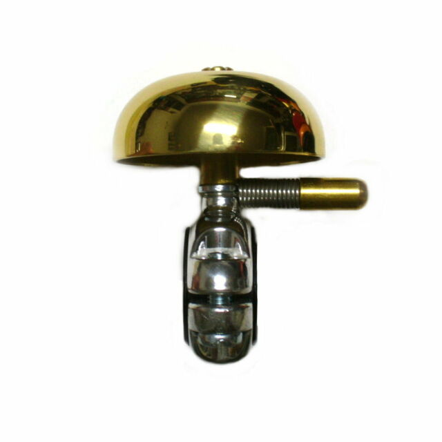 gobike88 Golden Copper Bell With Aluminium Alloy Clamp , B62